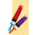 Brush flejts vector image vector image