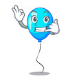 call me blue balloon bunch design on cartoon vector image