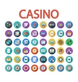 casino icon vector image