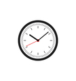 Clock icon flat design vector image