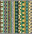 ethnicity seamless pattern boho style ethnic vector image