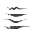 hand drawn brush lines vector image