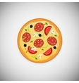 Pizza wood application icons vector image