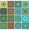 set ethnic patterns vector image