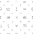 team icons pattern seamless white background vector image vector image