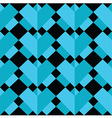 Geometric 3 d effect pattern vector image
