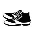 golf shoe accessory icon vector image vector image