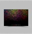 holi color paper card billboard poster vector image vector image