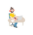 isolated cartoon vector image vector image