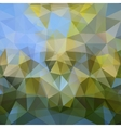 Modern abstract polygonal colorful background vector image