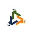 online marketing business vector image