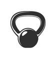set fitness kettlebell design element for logo vector image vector image