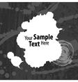 Grey blots background vector image