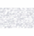 background pattern white geometric abstract vector image vector image