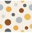 circle pattern background vector image