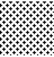 Monochrome elegant seamless pattern vector image vector image