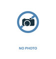 no photo icon monochrome style design from vector image