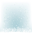 soft light blue snow mesh background vector image vector image