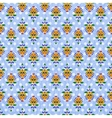 Colorful ornate seamless pattern vector image