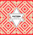 abstract pattern in etnic style vector image