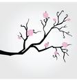 Branch in bloom vector image
