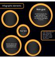 Circleinfo vector image
