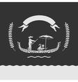 Emblem Venice vector image vector image