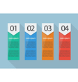 Four steps infographic vector image