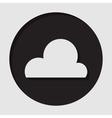 information icon - cloud vector image vector image