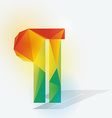 Pilcrow vector image vector image