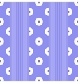Striped flower vector image vector image