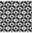 Triangle simple seamless pattern hand drawn vector image vector image