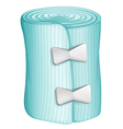 A blue bandage vector image vector image