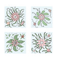 flowers composition ilustration vector image