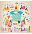 Happy Birthday 12 vector image vector image