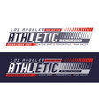 la california athletic sport vector image vector image