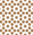 Seamless flower pattern in ethnic style vector image vector image