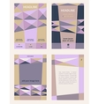 Set of corporate templates for catalogs brochures vector image vector image