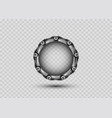 3d stargate concept alien construction isolate vector image vector image