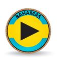 Bahamas Seal vector image vector image