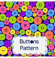 buttonpatcolor vector image vector image