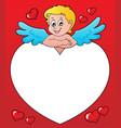 cupid thematics image 3 vector image vector image