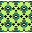 Green geometric seamless abstract vector image