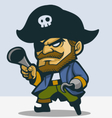 Pirate Captain vector image vector image