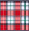 tartan seamless texture in various hues vector image vector image