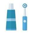 Tooth brush icon vector image vector image