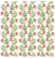 tropical flower botanical seamless pattern vector image vector image