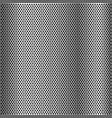 chrome grid metal background vector image