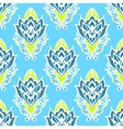 Damask Floral Seamless Pattern vector image