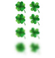 saint patricks day happy clover eps 10 vector image
